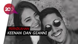 Keenan Pearce dan Gianni Fajri Resmi Menikah