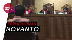 Novanto Ajukan Permohonan Bertemu Keluarga di Sela Persidangan
