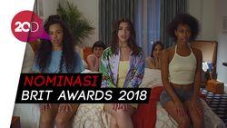 Dua Lipa dan Ed Sheeran Dapat Nominasi Terbanyak Brit Awards 2018
