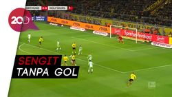 Agresif Menyerang, Borussia Dortmund Ditahan Imbang Wolfsburg