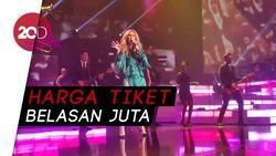 Harga Tiket Celine Dion Termahal Rp 12,5 Juta