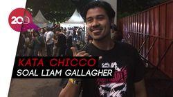 Nonton Liam Gallagher, Chicco Jerikho: Ini Nabi Gue!