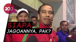 Ditanya Jagoan di Piala Presiden, Ini Kata Jokowi