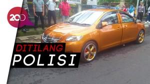 Brumm! Mobil Bermuka Dua Hebohkan Bandung