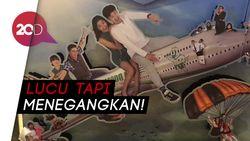 Flight 555 Komedi Menegangkan di Pesawat