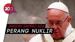 Paus Fransiskus Peringatkan Ancaman Perang Nuklir Melalui Foto
