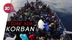 Begini Aksi Penyelamatan Ratusan Migran yang Terdampar di Laut