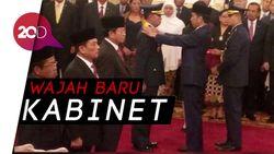 Resmi! Jokowi Lantik Menteri dan KSAU Baru