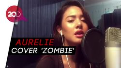 Aksi Aurelie Moeremans Cover lagu Zombie The Cranberries