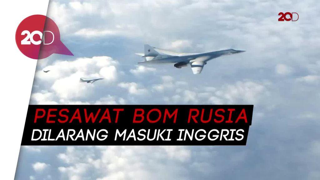 Aksi Jet Tempur Inggris Cegat Pesawat Bom Rusia