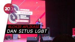 Aplikasi dan Situs LGBT Diblokir Kominfo