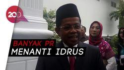 Lantik Mensos Baru, Jokowi: Khofifah Biar Konsen di Pilgub Jatim