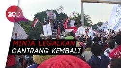 Aksi Aliansi Nelayan Indonesia di Monas
