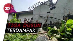 Puting Beliung Ngamuk, Puluhan Rumah di Probolinggo Rusak