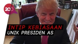 Donald Trump Ternyata Doyan Makan Permen Ini