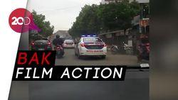 Aksi Polisi Kejar Pencuri Truk dari Indramayu hingga Sumedang