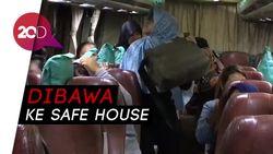 82 Calon TKW Ilegal di Pondok Kopi Dibawa ke RPTC Bambu Apus