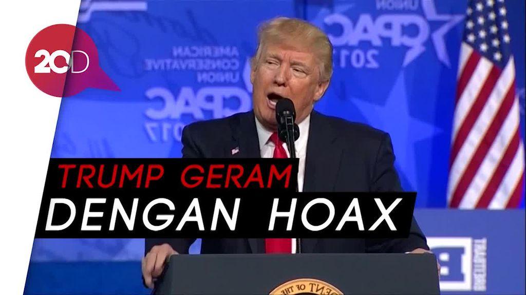 Trump Umumkan 11 Pemenang Fake News Awards