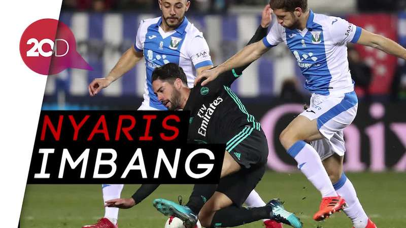 Nyaris Imbang! Asensio Bawa Madrid Unggul di Menit Akhir