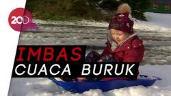 Salju Tebal, Ratusan Sekolah Irlandia Utara Ditutup