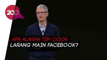 Kenapa Bos Apple Larang Keponakannya Main Facebook?