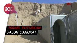 Israel Hancurkan Terowongan yang Diduga Digunakan Pejuang Palestina