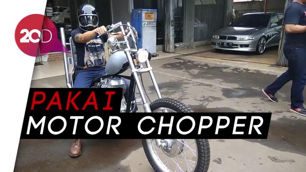 Jokowi Ajak Bikers Touring di Kalimantan