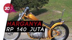 Motor Chopper Emas Jokowi