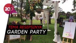 Melihat Persiapan Garden Party Ardina Rasti dan Arie Dwi Andika
