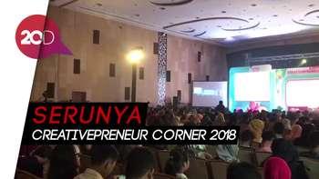 Raditya Dika Ramaikan Creativepreneur Corner 2018 di Jogja