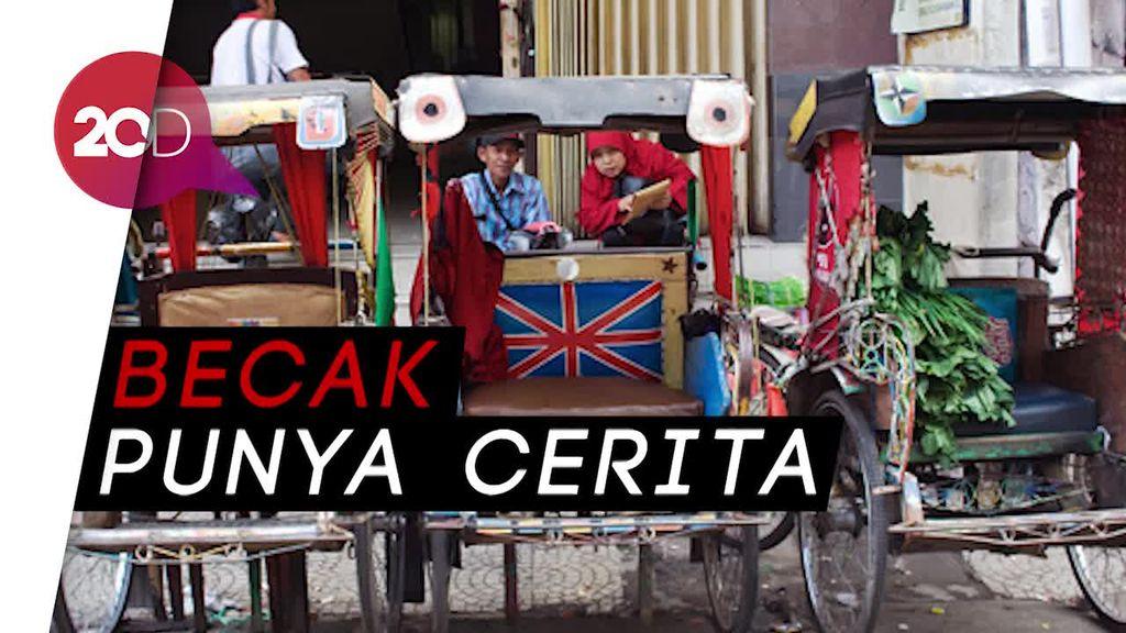 Aneka Rupa Becak di Indonesia