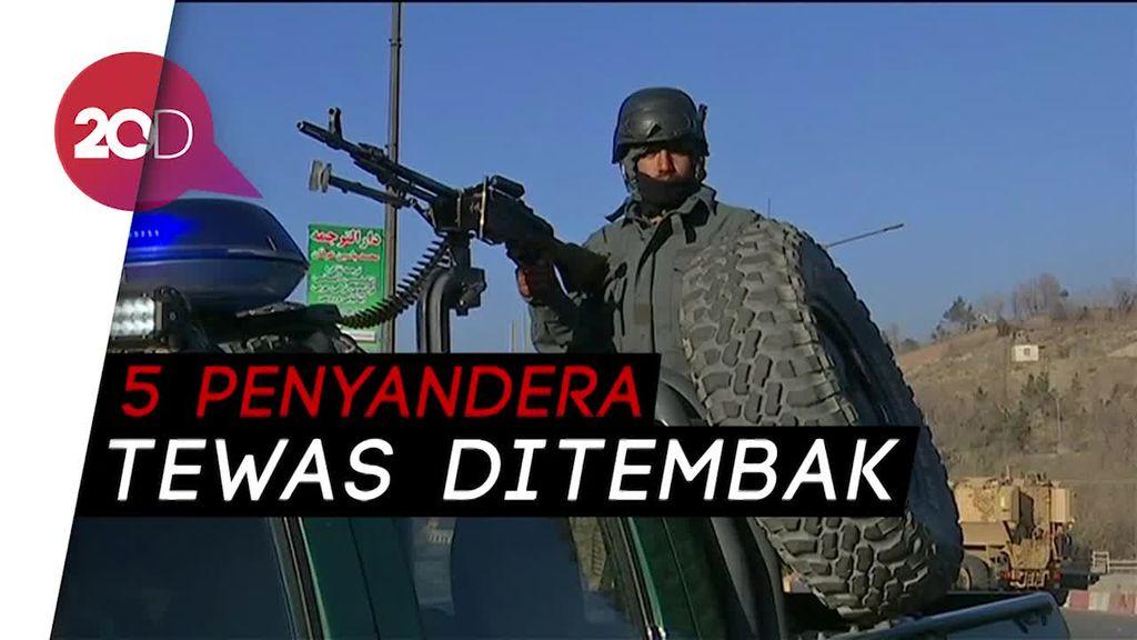 Kelompok Bersenjata Serbu Hotel di Afghanistan, Sandera Ratusan Warga