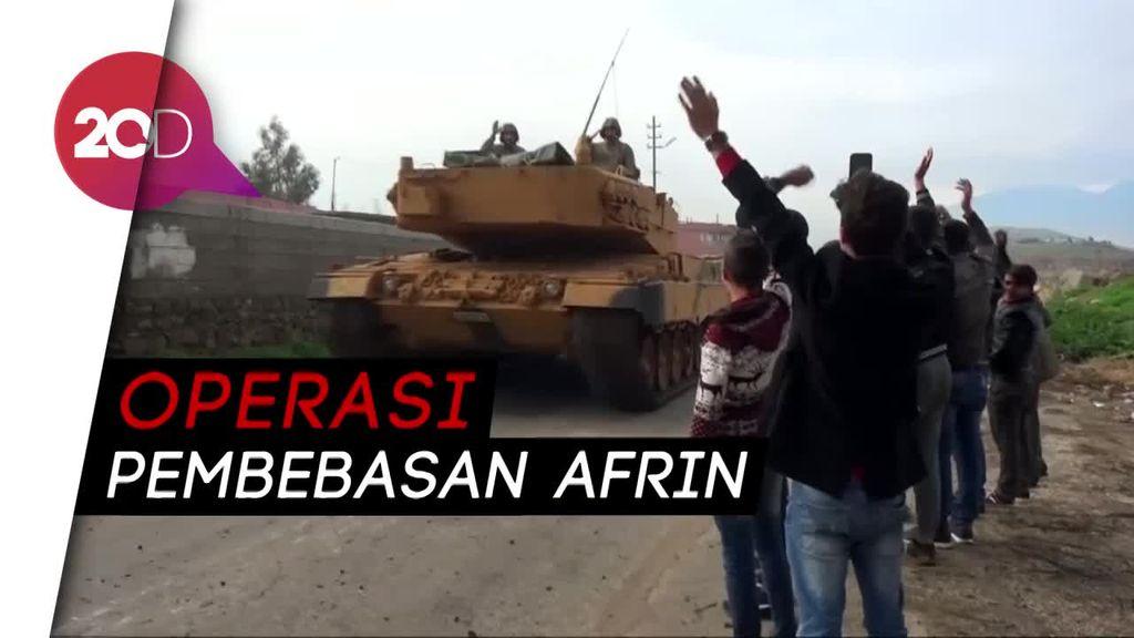 Konvoi Militer Turki Masuki Wilayah Suriah