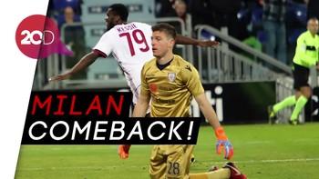 Gol Franck Kessie yang Menangkan Milan