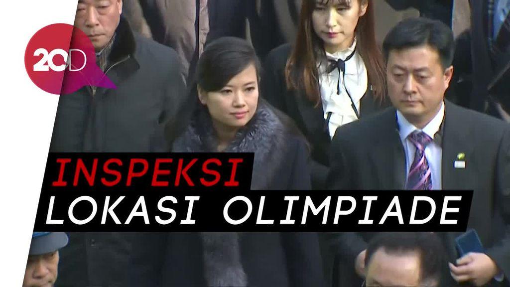 Gaya Mantan Pacar Kim Jong Un Saat Jadi Delegasi Korut