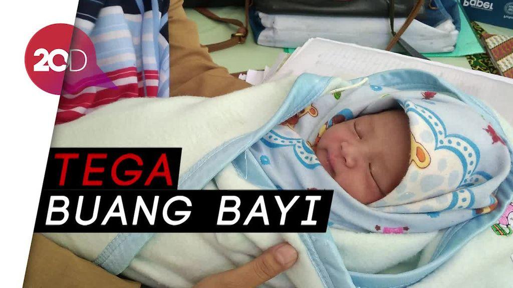 Geger Penemuan Bayi di Tempat Sampah