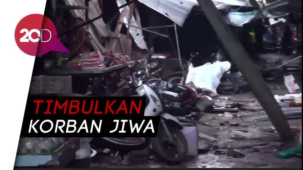 Sebuah Bom Motor Meledak di Thailand, 3 Orang Tewas
