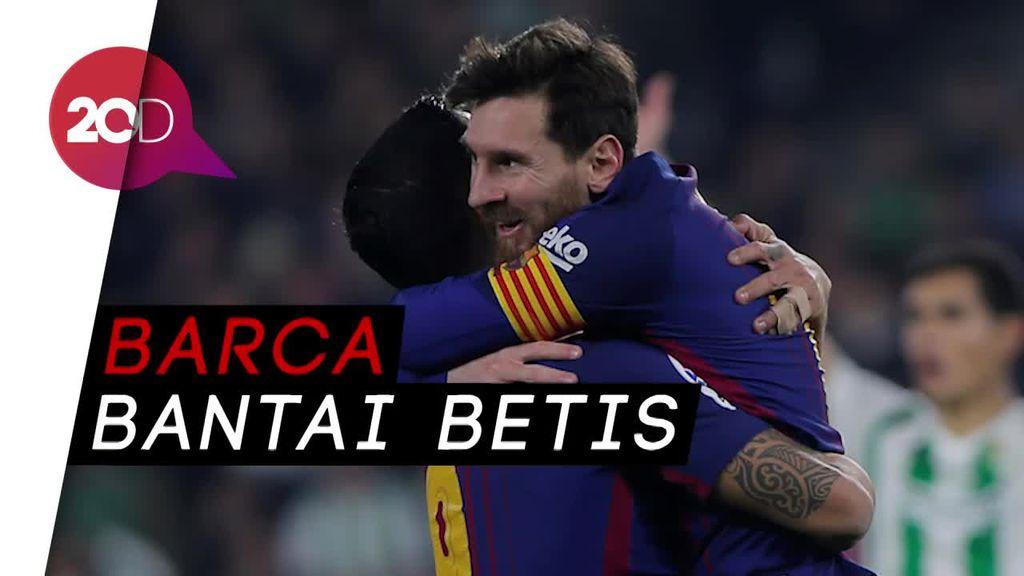 Duet Maut Messi-Suarez Bantai Betis