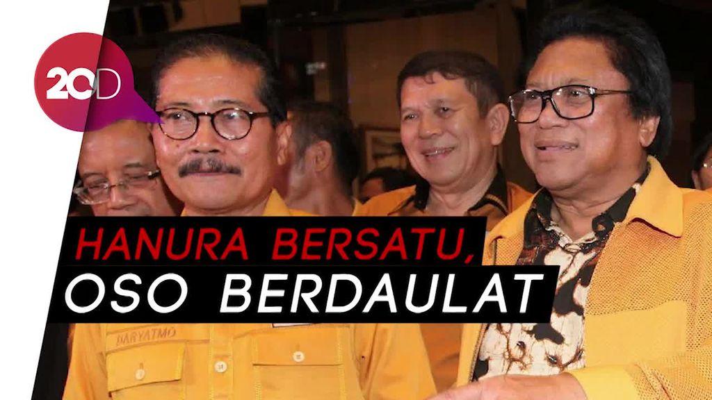 Dua Kubu Hanura Damai, Wiranto Tunjuk OSO Sebagai Ketua Umum