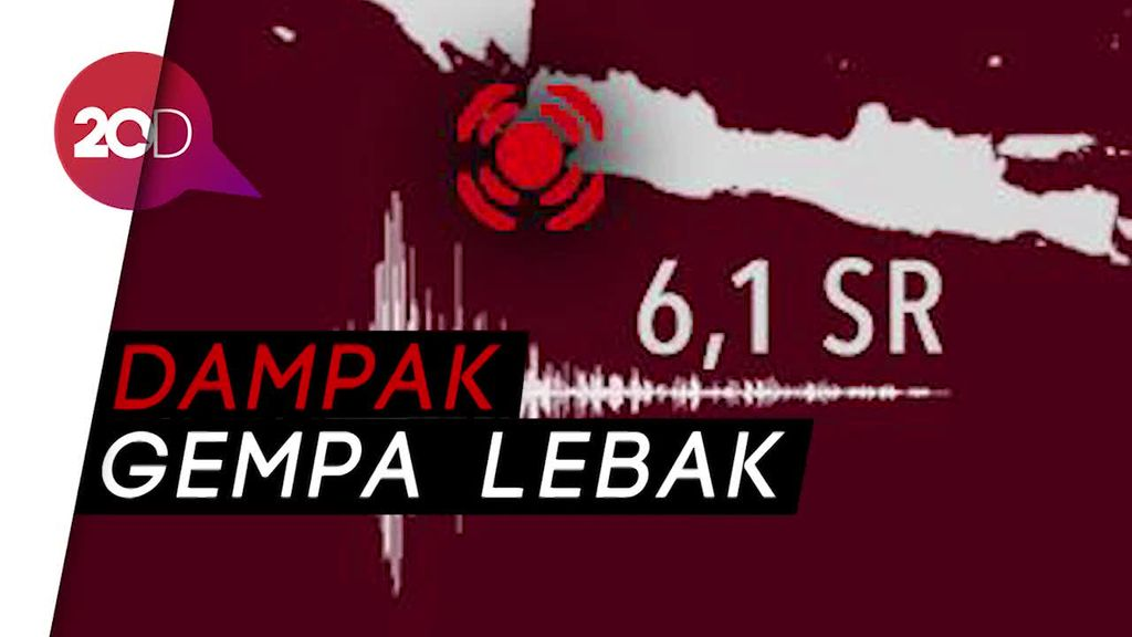 BNPB Belum Terima Laporan Kerugian dan Korban Gempa Lebak