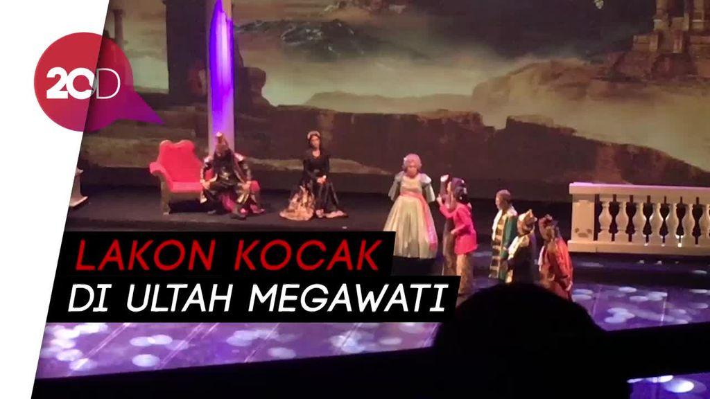 Pagelaran Satyam Eva Jayate Iringi Perayaan Ultah Megawati