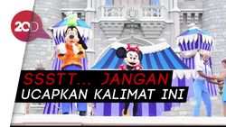 Ini Kalimat Terlarang Diucapkan Pegawai Disneyland