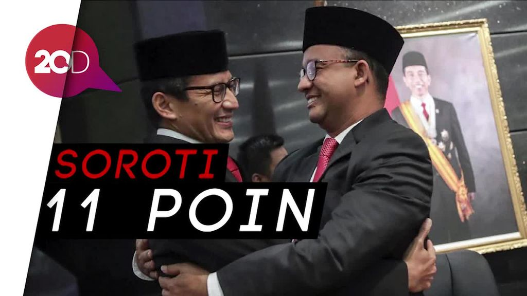 100 Hari Anies-Sandi, Fraksi PDIP dan Nasdem Jakarta akan Interpelasi