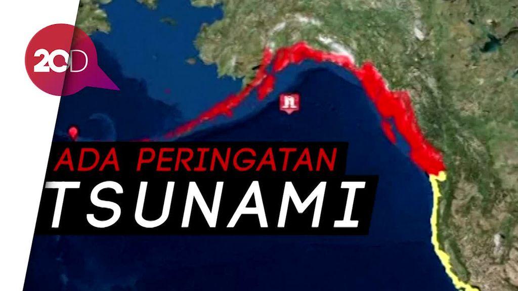 Tidak Hanya di Banten, Gempa Bumi Juga Guncang Alaska