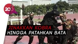 TNI Pamerkan Atraksi Unik di Depan Menhan AS