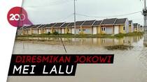 Kompleks Rumah DP 1% Jokowi Terendam Banjir