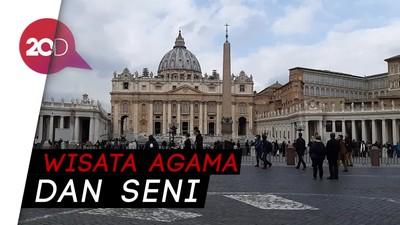 Serunya Blusukan di Vatikan