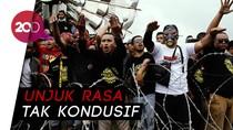 Ricuh! Aliando dan Polisi Terlibat Aksi Saling Dorong