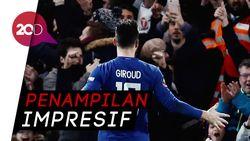 Gol Pertama Giroud Berseragam Chelsea