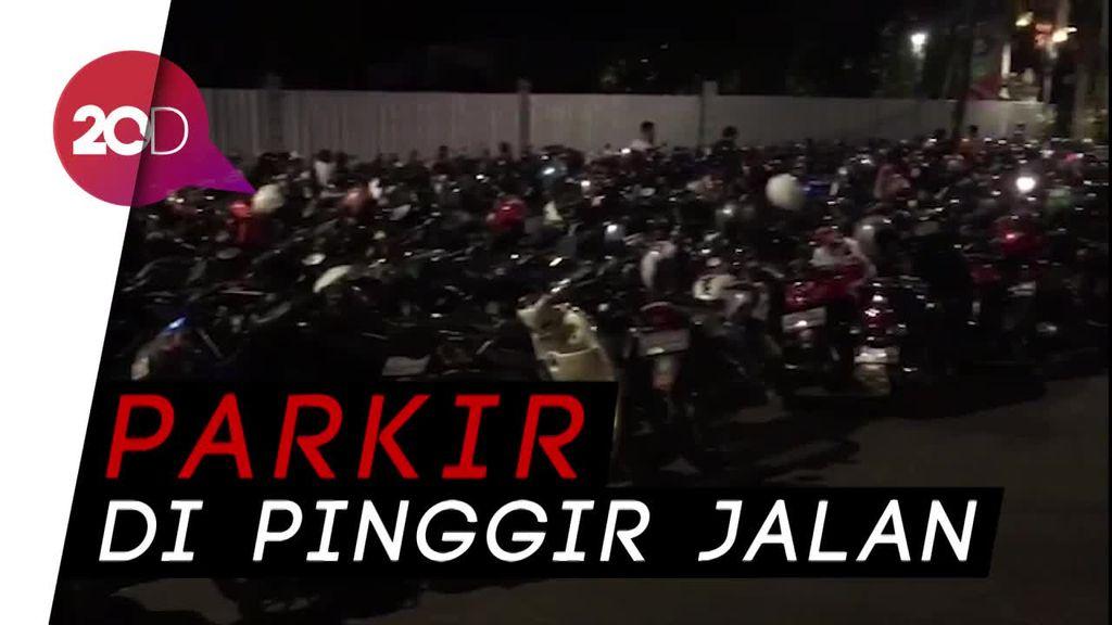 Final Piala Presiden, Kawasan Senayan Macet Total